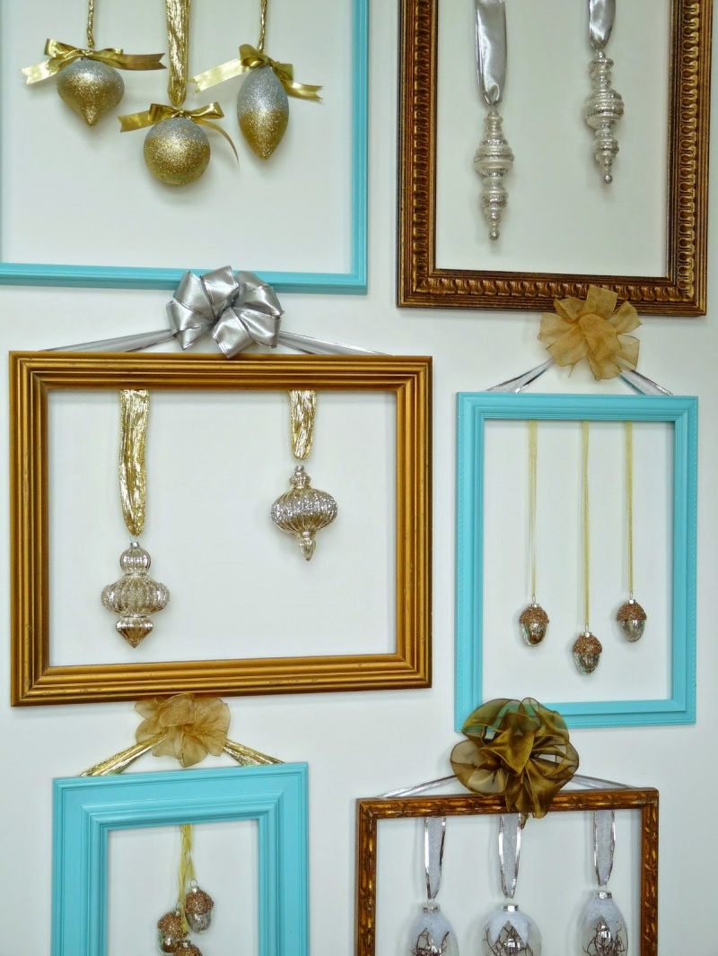 Picture Of cute diy ornament frames to bring a festive mood  6
