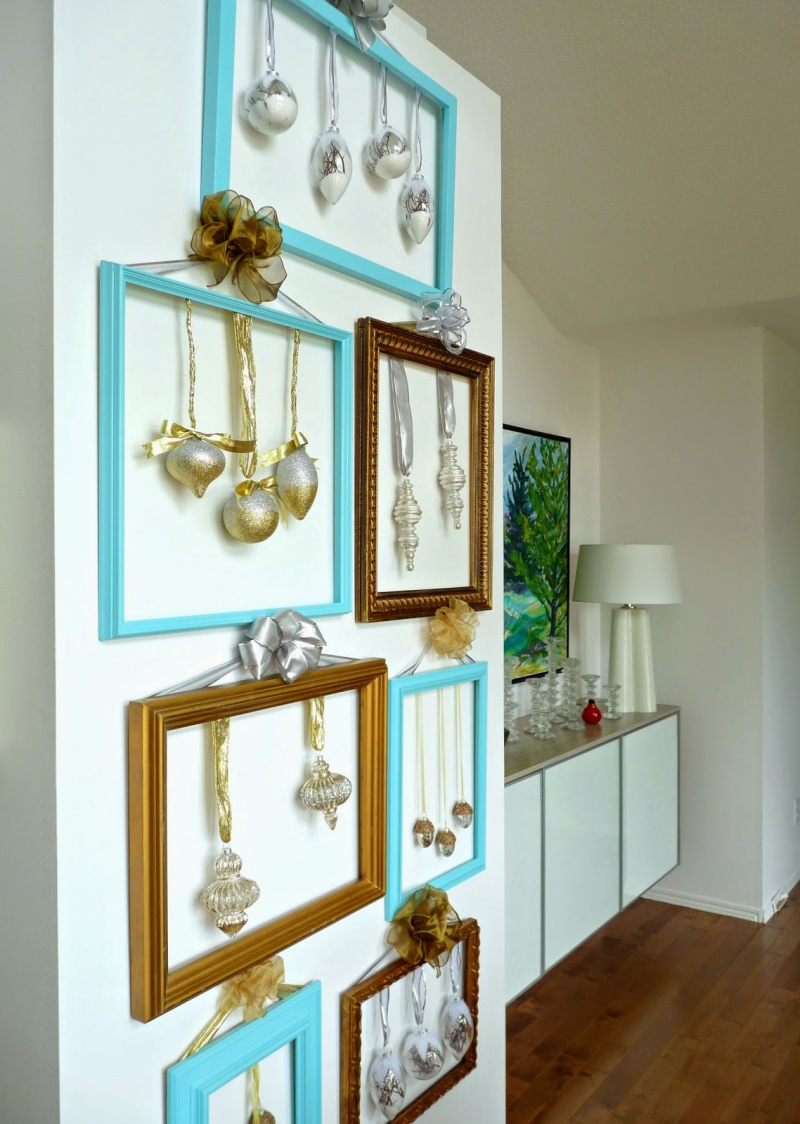 Picture Of cute diy ornament frames to bring a festive mood  7
