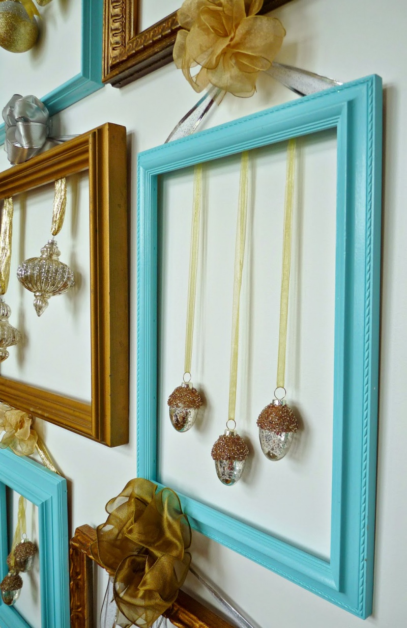 Picture Of cute diy ornament frames to bring a festive mood  8