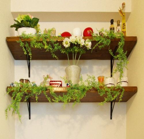 shabby chic shelf (via instructables)