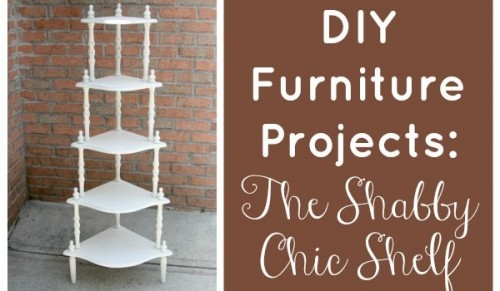 Tiered Shabby Chic Shelf Via Feelgoodstyle