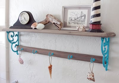 6 cute diy shabby chic shelves and racks shelterness