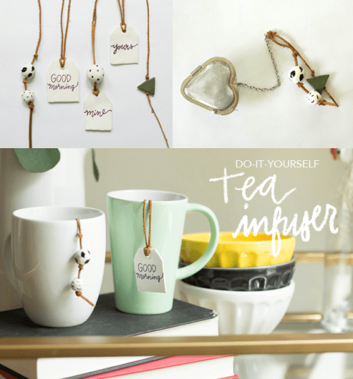 Cute DIY Updated Tea Infuser With Beads
