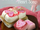 two ingredient heart soaps