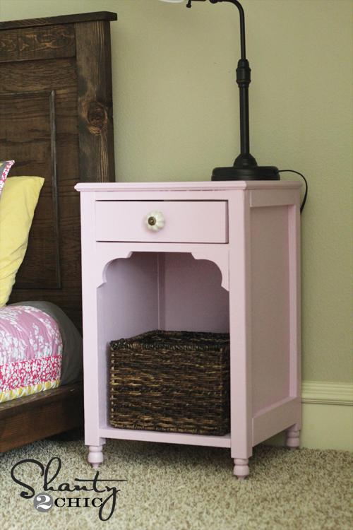 8 cute diy women nightstands shelterness for Cute nightstand ideas