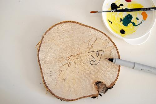 Cute Diy Wood Coasters With Prints