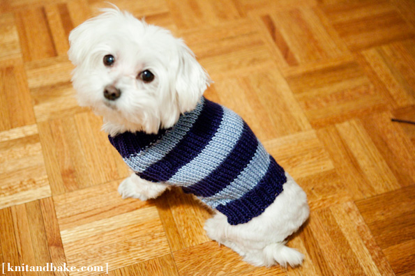simple striped sweater