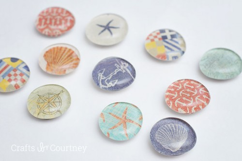Cute Nautical-Themed DIY Fridge Magnets