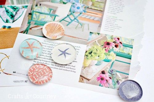 Cute Nautical Themed DIY Fridge Magnets