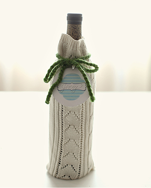 5 DIY Wine Bottle Gift Wrap Ideas