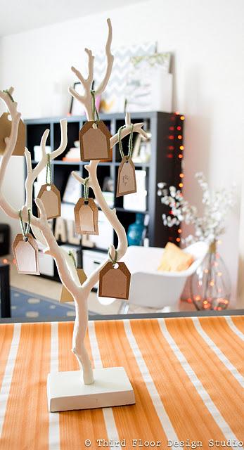 Cute Thankful Tree