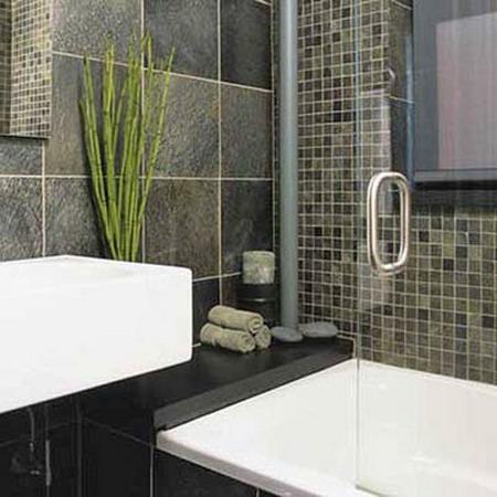 Bathroom on 33 Dark Bathroom Design Ideas    Photo 15