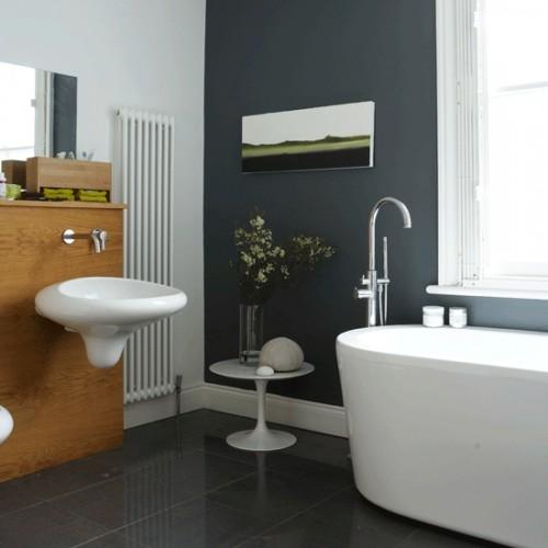 33 Dark Bathroom Design Ideas