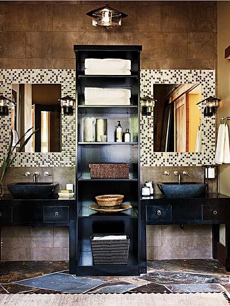 Dark Bathroom Design Ideas