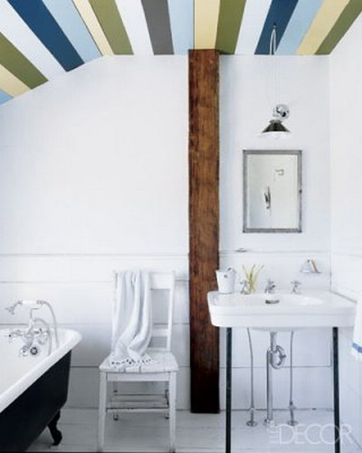 45 Cool Ideas To Decorate Your Ceilings With Stripes ...