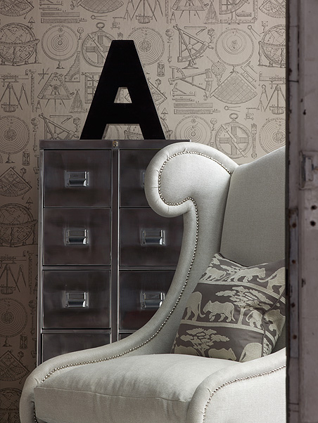Decorating Interiors With Letters