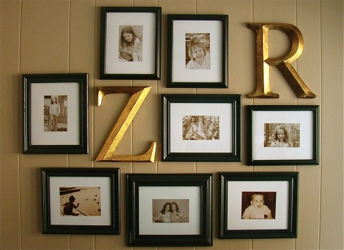Decorating Interiors With Letters & 45 Ideas To Decorate Your Interior With Letters - Shelterness