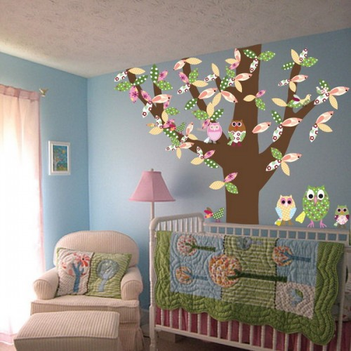 25 Ideas To Decorate Kids Room With Birds