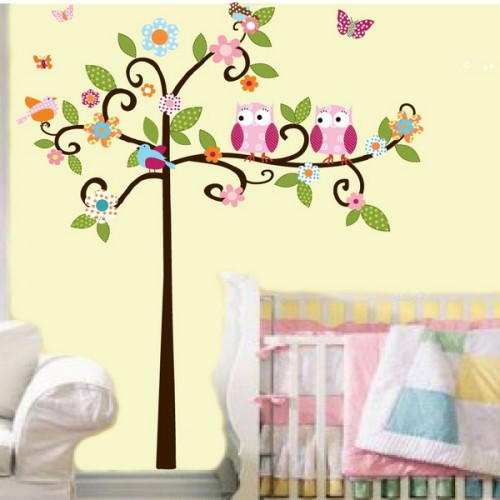Cute Decorating Kids Room With Birds