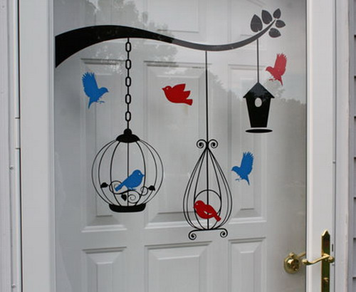 Decorating Kids Room With Birds