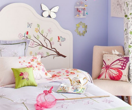 Decorating Kids Room With Butterflies