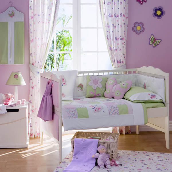 23 Ideas To Decorate Girls Room With Butterflies | Shelterness