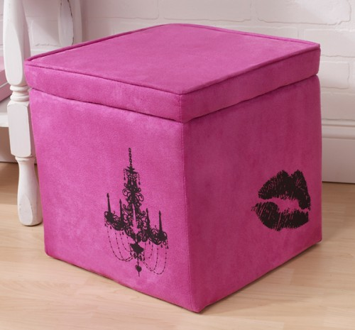 How To Decorate Simple Storage Ottoman