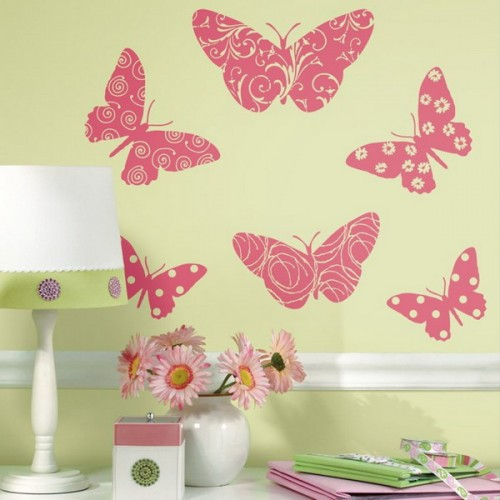 32 Ideas To Decorate Walls With Butterflies - Shelterness