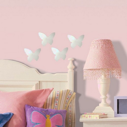 Elegant Decorating Walls With Butterflies