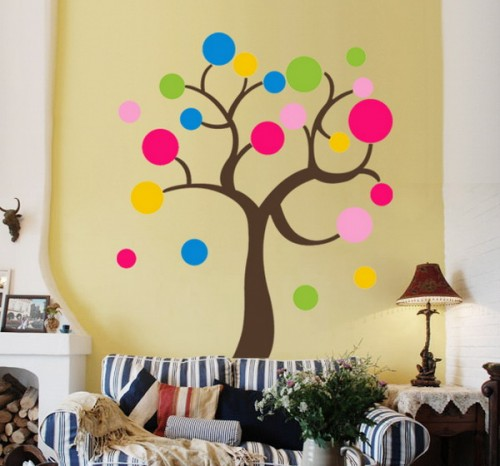 20 Ideas To Decorate Walls With Circles