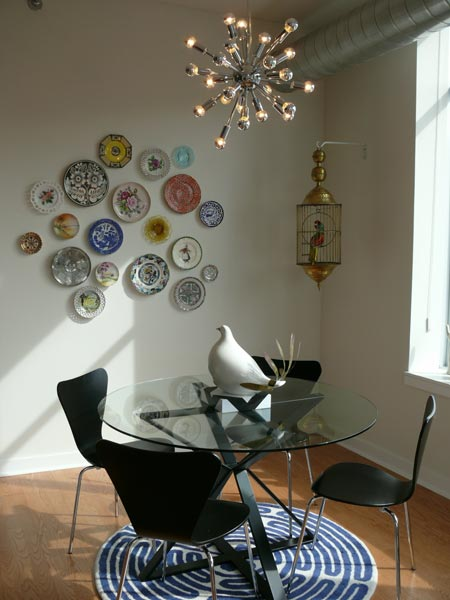 20 ideas to create plates wall collage shelterness