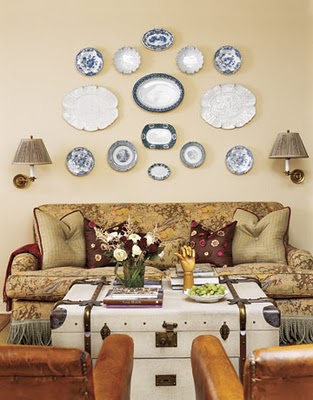 Decorating Walls With Plates | Shelterness