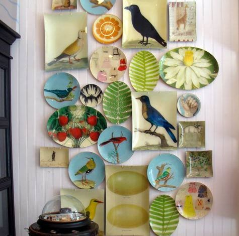 Decorating Walls With Plates & 20 Ideas To Create Plates Wall Collage - Shelterness