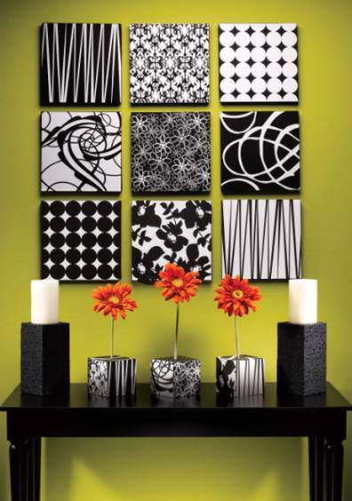 Decorating Walls 20 ideas to decorate walls with squares - shelterness
