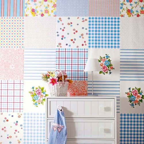 Decorating Walls With Squares