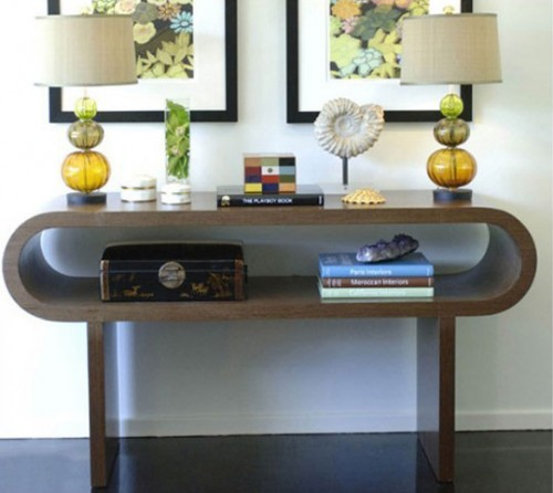 27 In X 27 In Rustic Mother Of Pearl Wall Decor 41121: 47 Console Table Decor Ideas