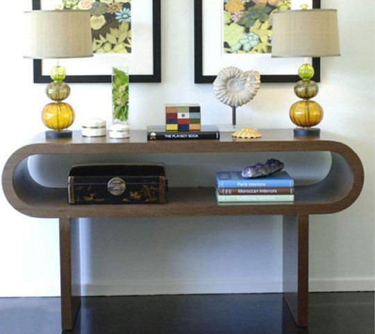 Unique Console Table Ideas - Home Ideas Designs