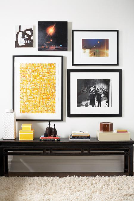 You Can Hang A Picture Wall Above Your Console Table.