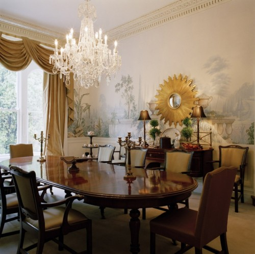 Wall Pictures For Dining Room: 21 Decorating Ideas Of Using Sunburst Mirrors