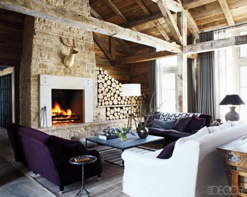 Decorating With Wood Logs