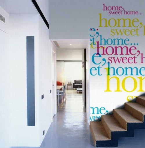25 Ideas To Decorate With Words - Shelterness