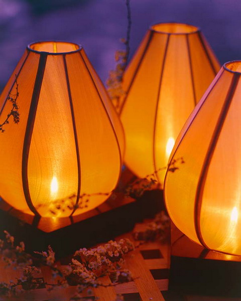 Decorative Terrace Lighting