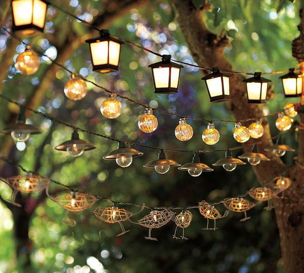 Decorative Terrace Lighting