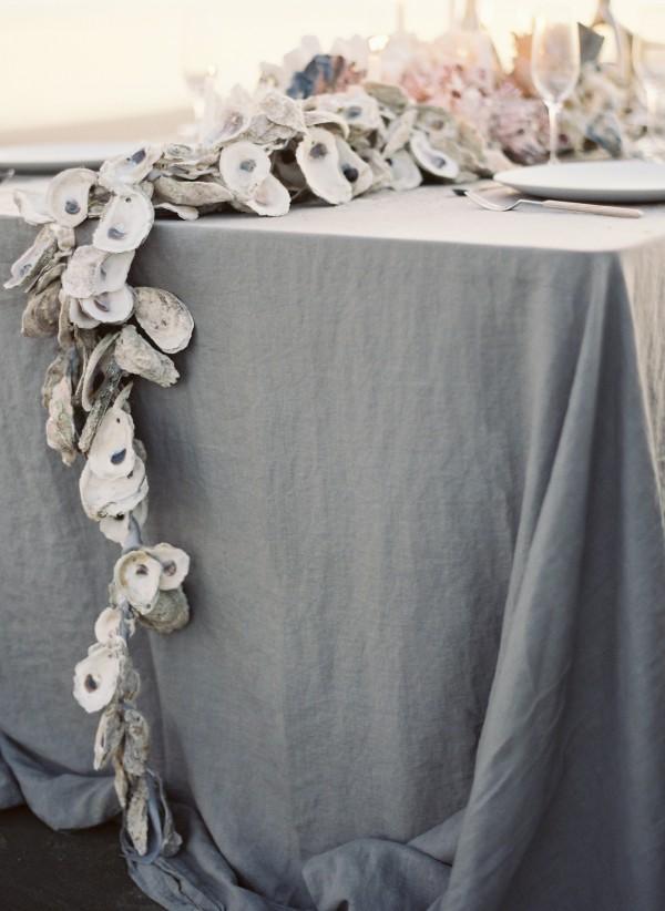 oyster shell garland