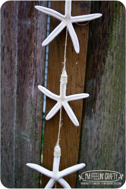simple starfish garland