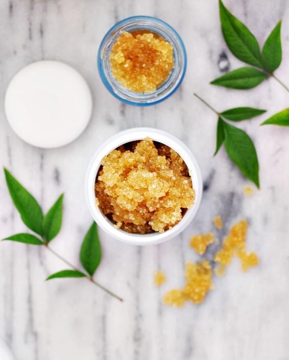 Delicate Diy Vanilla Scrub For Dry Skin