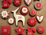 gingerbread cookies calendar