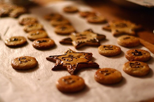 icy sugar cookies calendar (via christmasgiftcountdown)