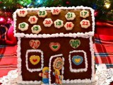 gingerbread house calendar