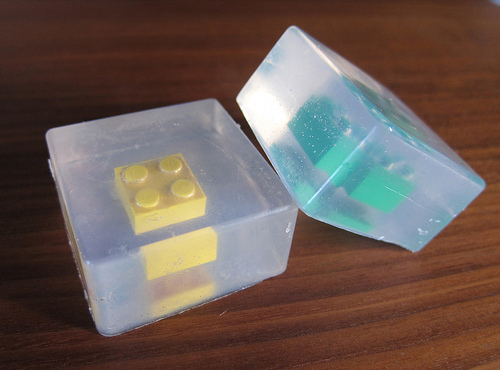 diy lego soap